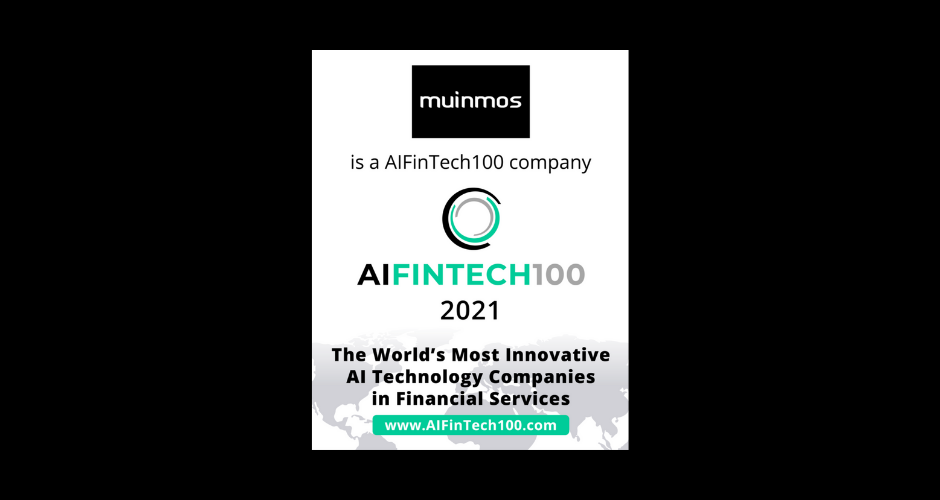 Muinmos Selected for AIFinTech 100